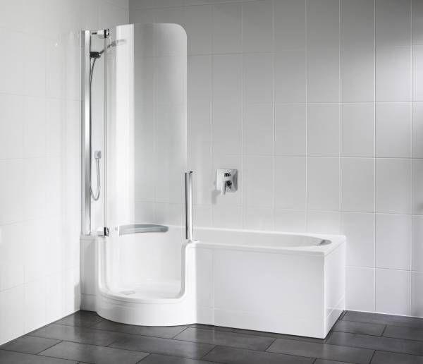 Artweger Twinline 1 Dusch Badewanne 160 Mit Tur Mit Glasfront