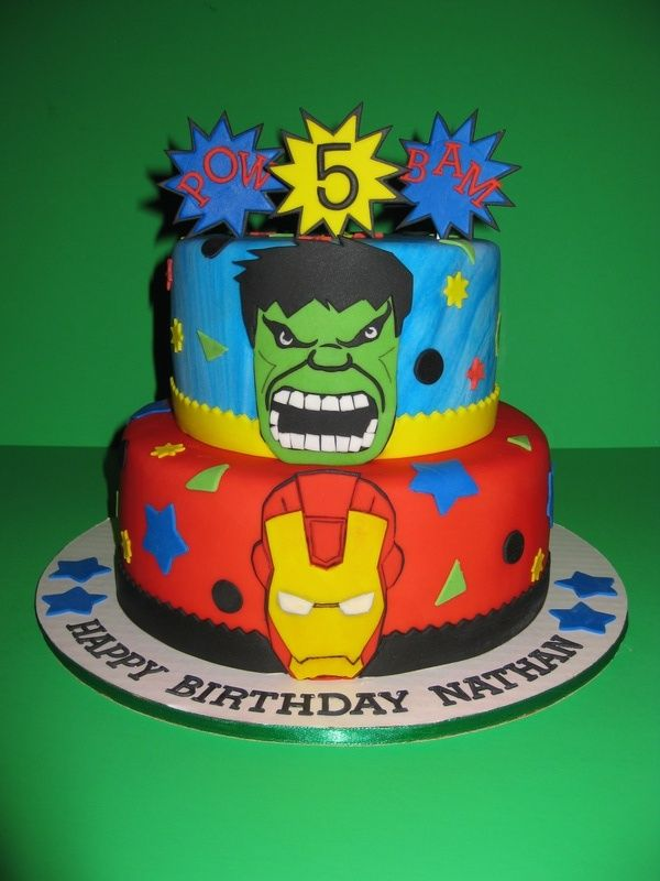 The Avenger's Birthday Cake. I want this on my birthday!!!!