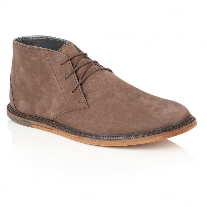 Walker Hazel Oxide Leather Lace-up Boot
