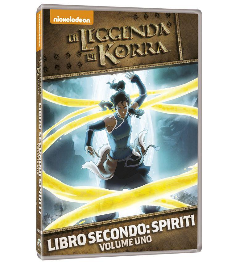 La Leggenda di Korra - Libro Secondo: Spiriti - In DVD dal 9 luglio