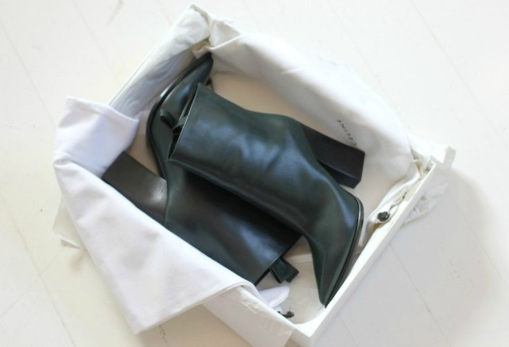 #celine #boots #edmeralgreen #new #rider #fashion #inspo #shoes