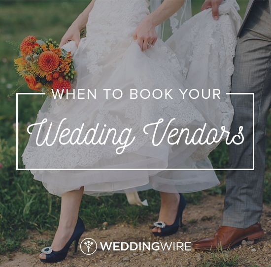 Exactly When To Book Your Wedding Vendors