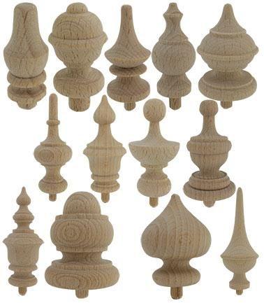 Decorative Finial | Decorative Wooden - Finials