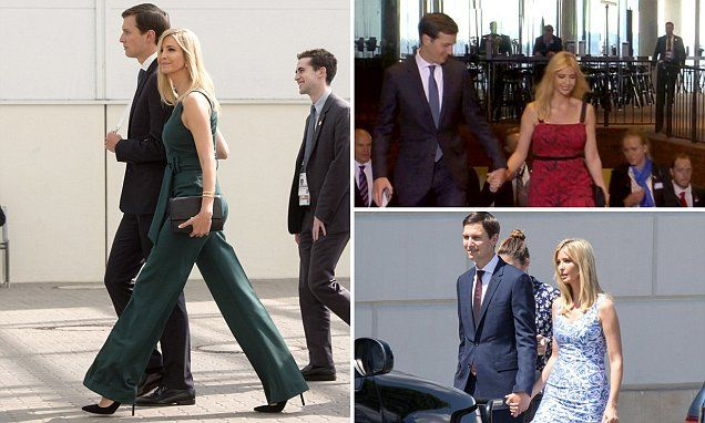 Ivanka Trump and Jared Kushner continue with the PDA at G20 summit