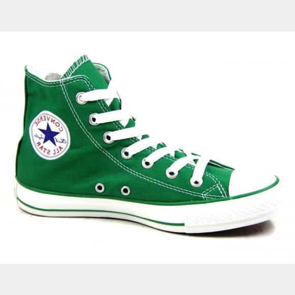 🎉SALE Green Converse High Tops in 2020