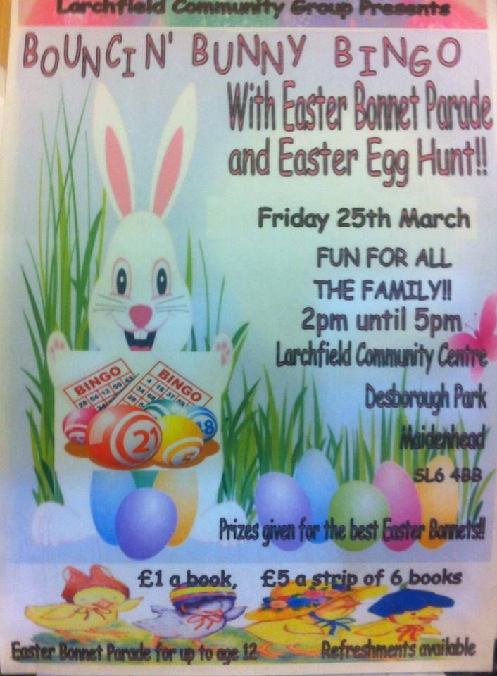 33 best maidenhead easter family fun 2016 images on pinterest friday 25th march at the larchfield community centre negle Gallery