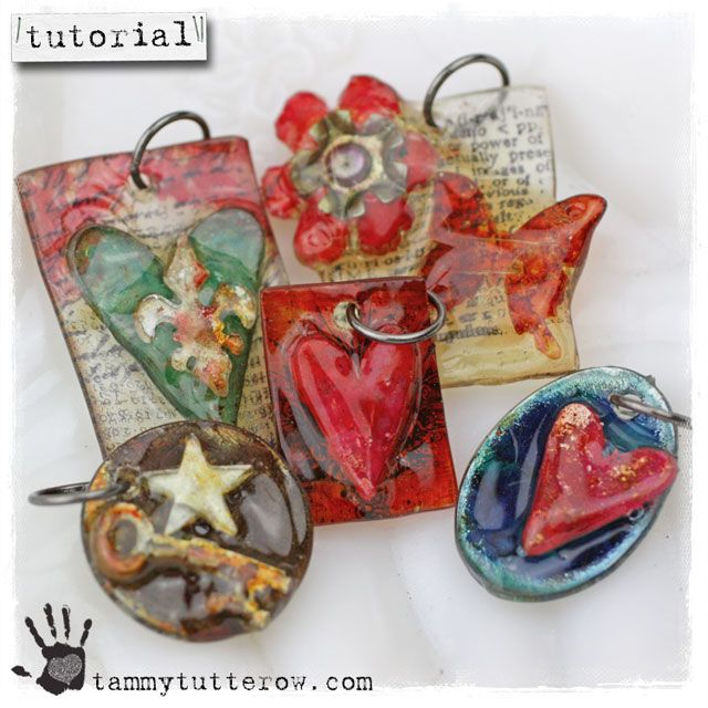 In this tutorial, you'll die cut, sand, stamp, and color shrink plastic before dipping it in UTEE to create a myriad of different pendants l...