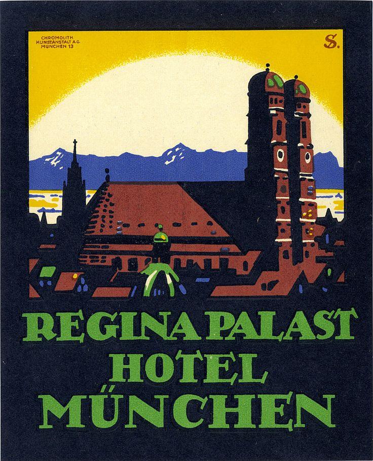 Vintage LL: Hotel Munchen, Germany