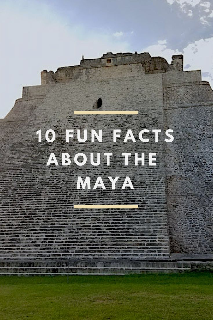 Have you heard about the Maya people of Mexico and Central America? Here are some fun facts for kids to learn more about their culture!