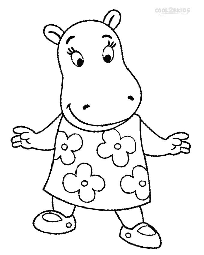 printable backyardigans coloring pages for kids cool2bkids - Backyardigans Coloring Pages Print