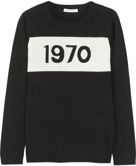 Bella Freud Merino Wool Sweater