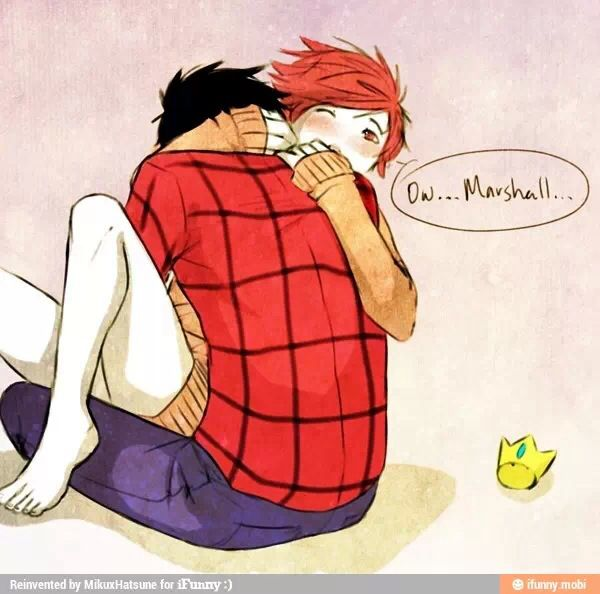 Adventure Time Yaoi Marshall Lee X Prince Gumball (Gumshall)