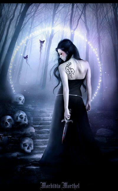 Morbidia Morthel Gothic fantasy art