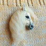 Купить или заказать Заколка для волос 'Слоник индийский' в интернет-магазине на Ярмарке Мастеров. Объёмная заколка для волос в виде слона. Изготовлена из 100% шерсти методом сухого валяния. Тонировка шерстью. Глаза стеклянные, ручной работы.Бивни из легкой полимерной глины. Сзади обшит замшей. Упакован в подарочную коробочку. Этот слоник делался под заказ, на подарок. Могу сделать аналогичную заколку или брошь в таком же стиле на заказ.