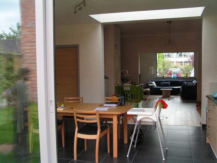 lichtstraat in uitbouw - architect a.wildro