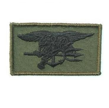 Navy Seals patch olive (verde)