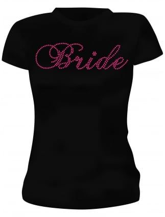 Diamante Hen Party T-Shirts and Vests | Hen Party Superstore