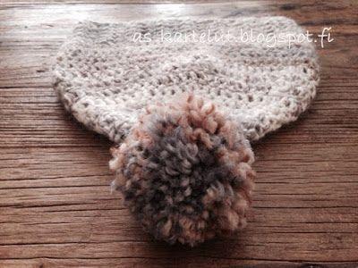 AS-kartelut: Virkattu pipo #pipo #virkkaus #crochet #beanie