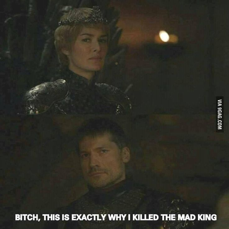Game of Thrones Memes.... Exactly what I was thinking!!! The last prophecy from the witch is becoming a reality.