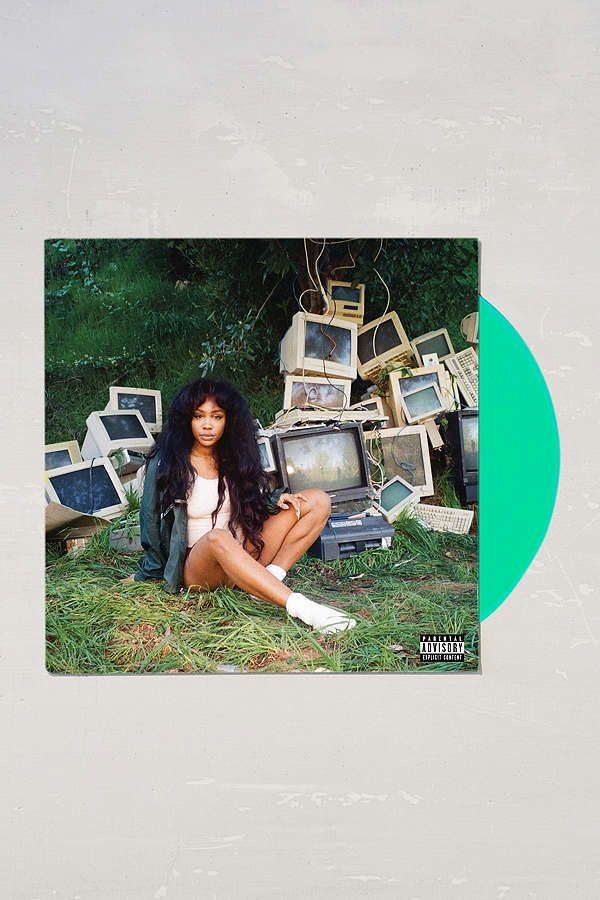 Slide View: 2: SZA - Ctrl Limited 2XLP vinyl record