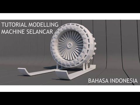 Cinema 4D Tutorial - Modelling Machine Selancar (Bahasa Indonesia) - YouTube