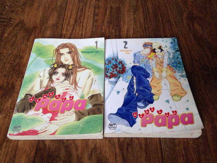 Romance Papa 1 2 Manhwa Manga Book Lot English Shojo Used Youngran Lee Teen | eBay