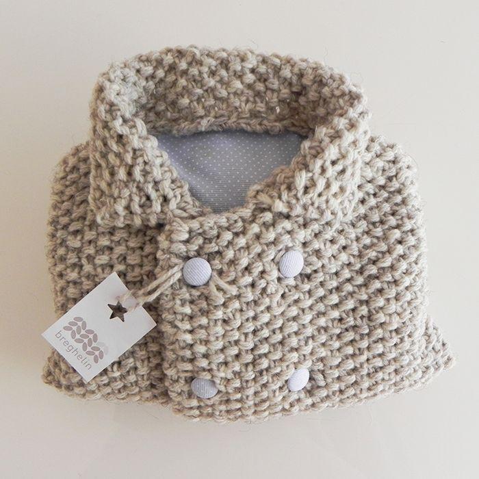 #warmjacket #warmgrey #knit #babyknit