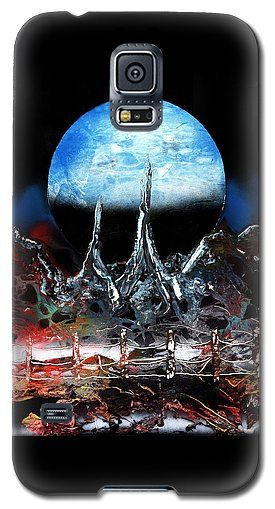 My Home Galaxy S5 Case Printed with Fine Art spray painting image My Home by Nandor Molnar (When you visit the Shop, change the orientation, background color and image size as you wish)