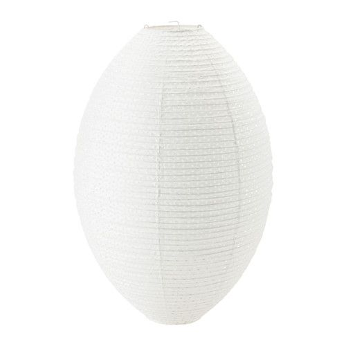 IKEA - SOLLEFTEÅ, Pendant lamp shade, , You can create a soft, cozy atmosphere in your home with a paper lamp that spreads diffused and decorative light.
