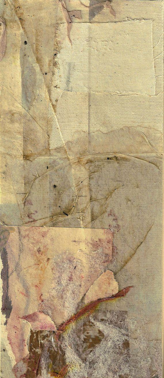 Original abstract paper-collage Aufsteigen  Rising от uterathmann