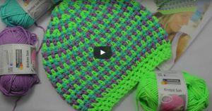Videolu, Neon Renklerde Örgü Şapka Yapılışı 1