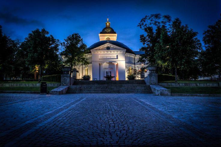 A church in Hämeenlinna