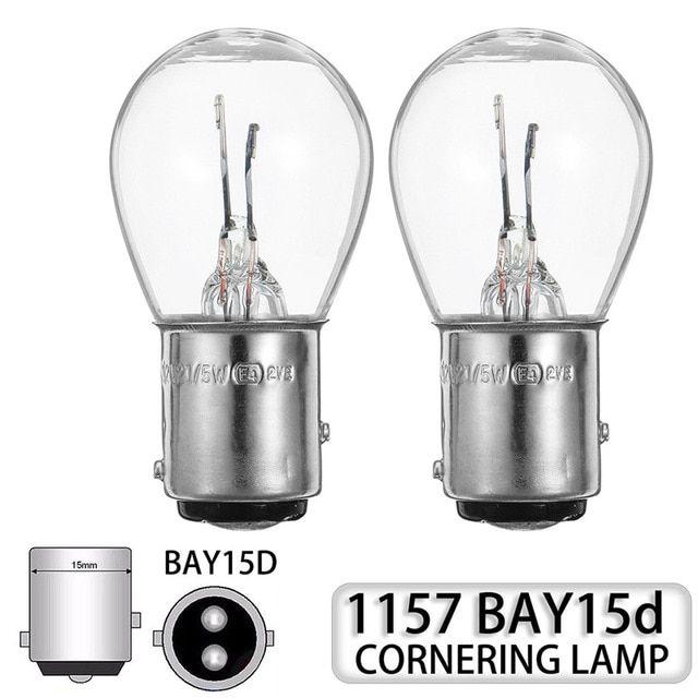 10pcs 1157 Bay15d Led Turn Singal Light Car Boat Reverse Brake Backup Lamp Tail Light Transparent Light Bulb Dc12v Review Light Bulb Tail Light Lamp