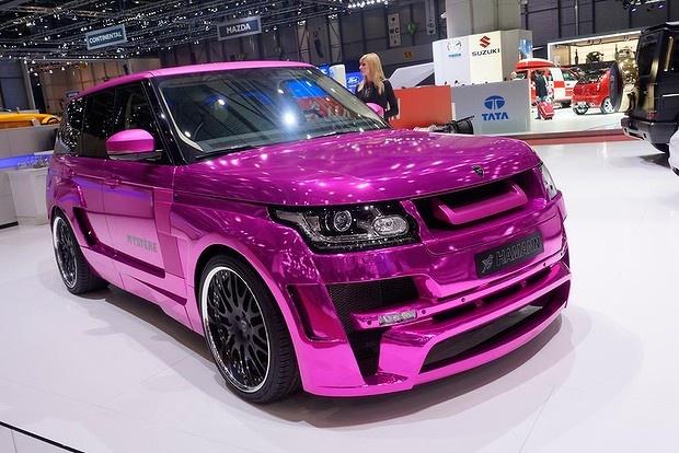 Car Show in Geneva - Hamann Range Rover Mystere.