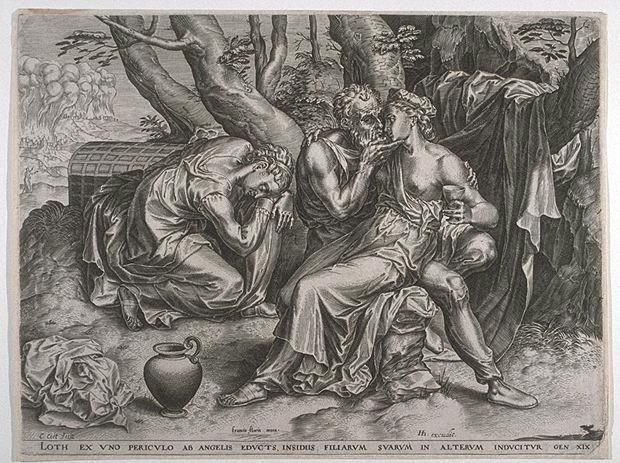 Lot and his daughters (c.1570)