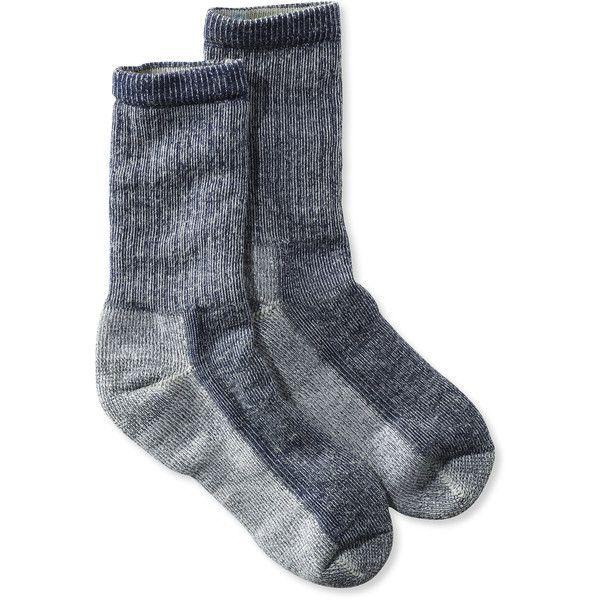 SmartWool  Hiking Socks, Crew Medium Misses ($19) ❤ liked on Polyvore featuring intimates, hosiery, socks, smartwool socks, crew socks, merino socks, merino wool socks and merino wool crew socks