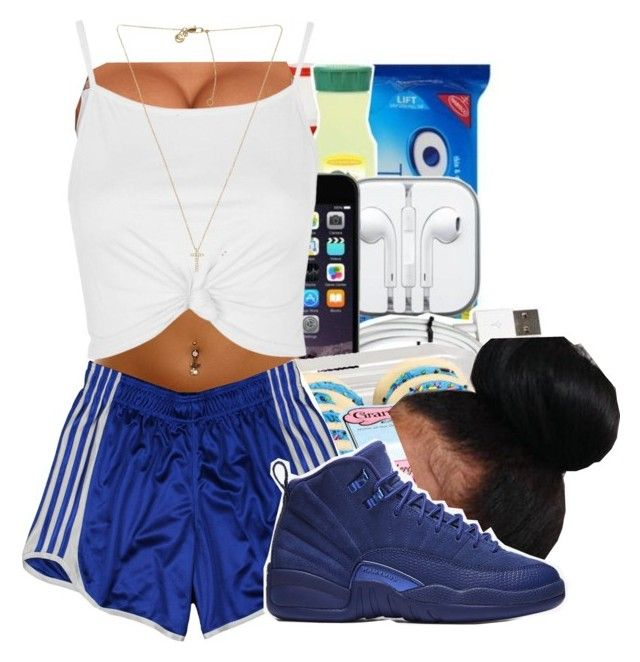 """""""Over here✨ PND"""" by maiyaxbabyyy ❤ liked on Polyvore featuring adidas, NIKE, Topshop and Michael Kors"""