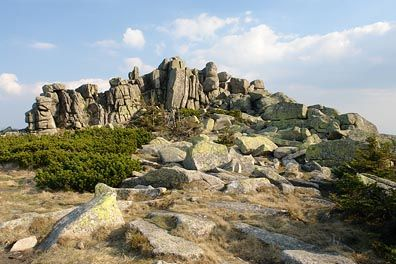 Mužské kameny, Krkonoše