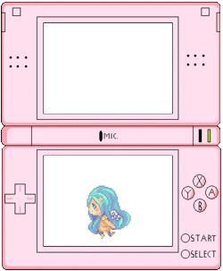 cute anime kawaii myedit pastel pixel pixels DS transparent nintendo ds