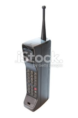 1980s Mobile phone.