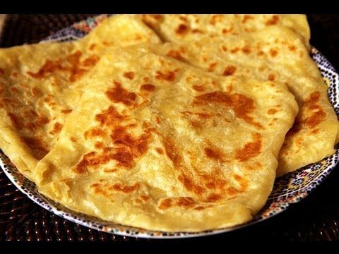 Msemen - the famous Moroccan crepes