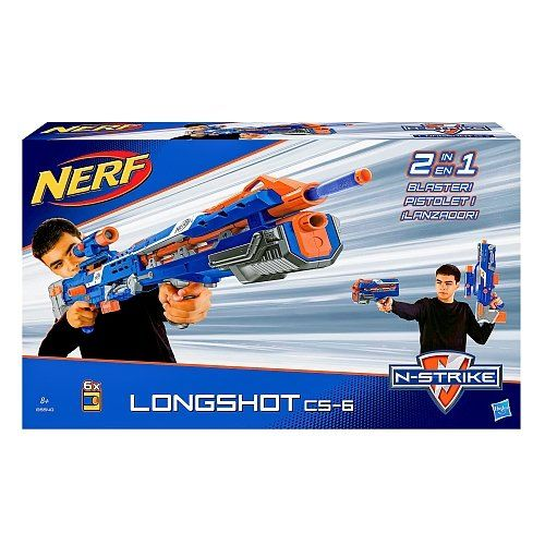 NERF N-Strike Elite Longshot CS-6 Blue - Range up to 30 m... https://www.amazon.fr/dp/B015KT687E/ref=cm_sw_r_pi_dp_F1IkxbSQ2CRRV