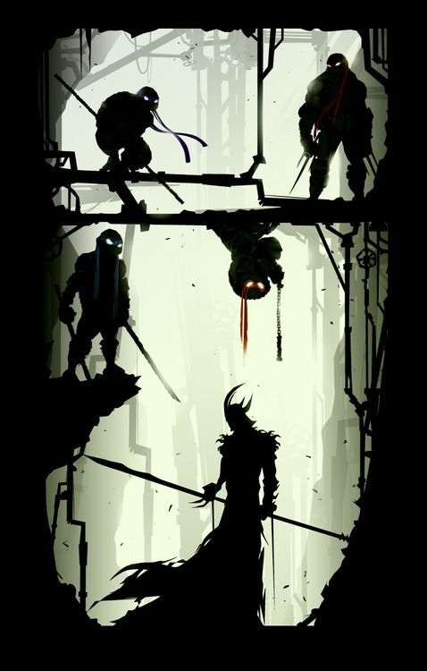 Shredder's Last Stand  Created by Justin Currie  Tumblr | deviantART  (Via: chaseartwork)