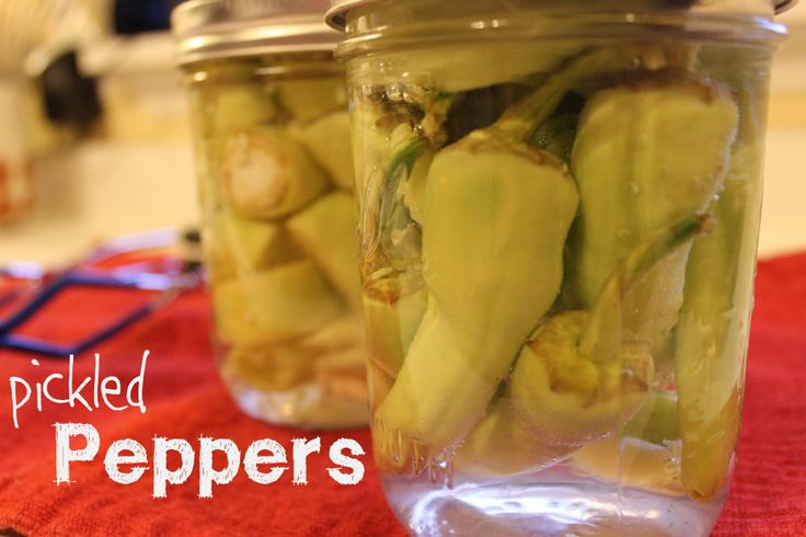 Homemade Pickled Pepperoncini Peppers | The Homespun Journal