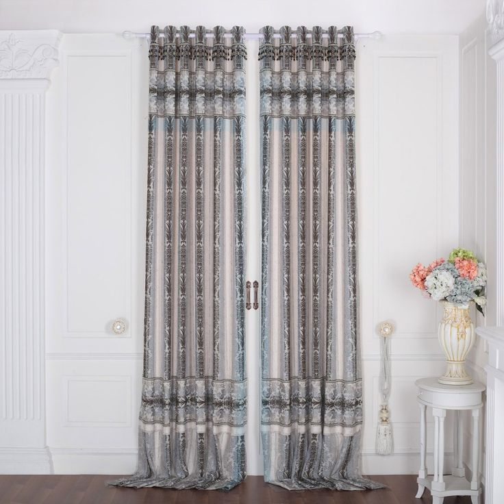 Floral Traditional Jacquard Thermal Curtain  #curtains #homedecor #decor #homeinterior #interior #design #custommade