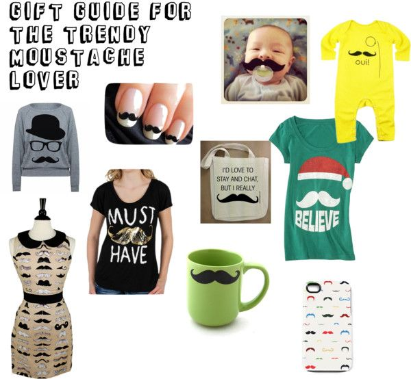 Mrs. Mommy Product Blogger: Gift Guide (Part One) - The Trendy Moustache Lover
