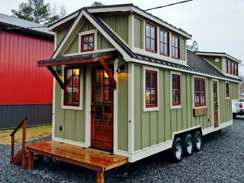 Tiny Mobile Houses modern mobile home modern tiny house interior Luxurious Farmhouse Style Tiny House Is Beautiful Youtube