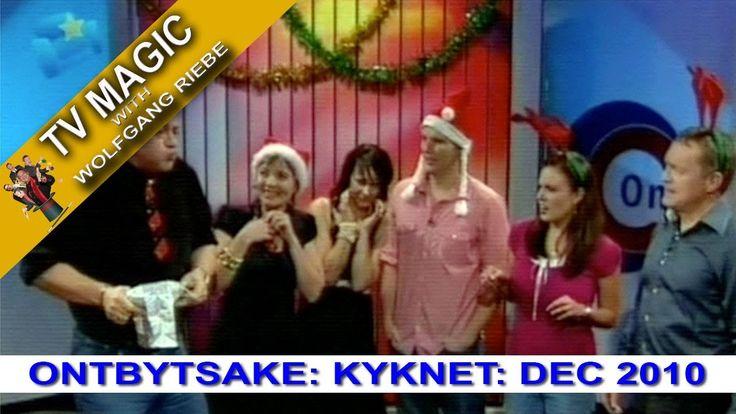 TV Magic Ontbytsake Wolfgang Riebe Dec 2010