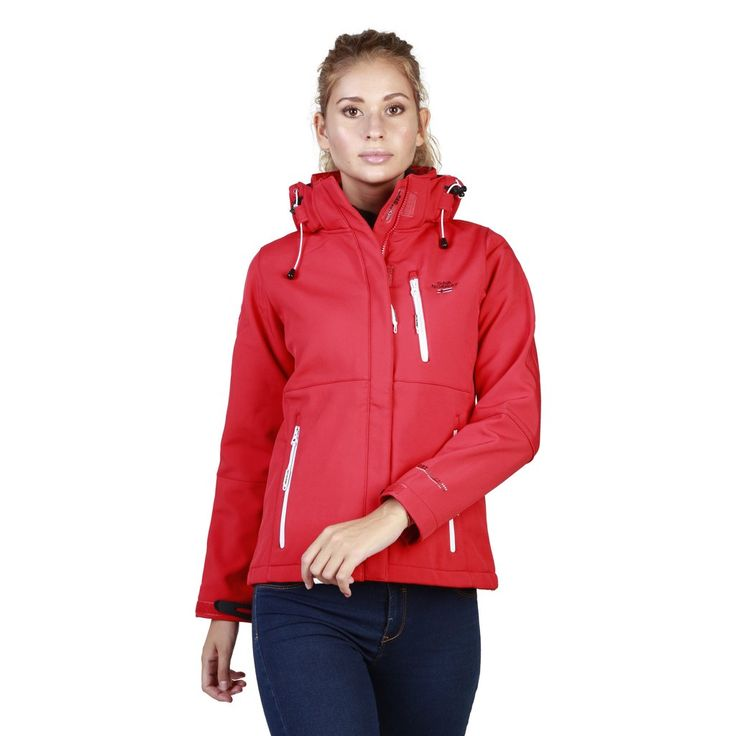 Geographical Norway Red Women Jackets
