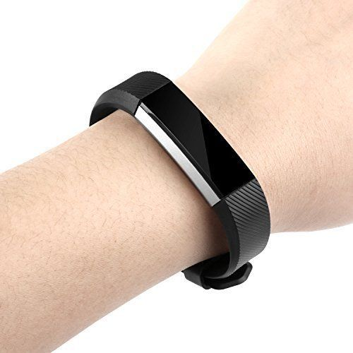 Fitbit-Alta-HR-Band-Silicone-Bracelet-BeneStellar-Strap-with-Steel-Clasp-12-Pack